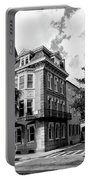 Charleston Corner Charleston Sc Portable Battery Charger by William Dey