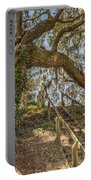Charleston Oak Stairway Portable Battery Charger
