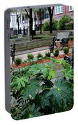 Charleston Waterfront Park Benches Portable Battery Charger