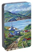 Charlevoix Scene Portable Battery Charger
