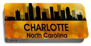 Charlotte Nc 3 Squared Portable Battery Charger