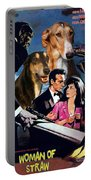 Chart Polski Art - Woman Of Straw Movie Poster  Portable Battery Charger