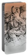 Chartres Cathedral Portable Battery Charger