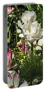 Chartres Garden White Portable Battery Charger