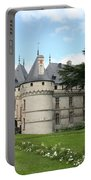 Chateau Chaumont From The Garden  Portable Battery Charger