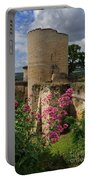 Chateau Chinon In The Loire Valley Portable Battery Charger