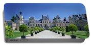 Chateau De Fontainebleau Ile De France Portable Battery Charger