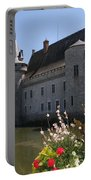 Chateau De Sully-sur-loire And Moat Portable Battery Charger