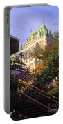 Chateau Frontenac In Quebec Portable Battery Charger