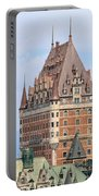 Chateau Frontenac Quebec City Canada Portable Battery Charger