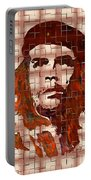 Che Guevara Digital From Watercolor Painting Portable Battery Charger
