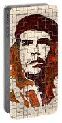Che Guevara Watercolor Painting Portable Battery Charger