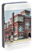 Cheboygan Michigan - Opera House And City Hall - Huron Street - 1905 Portable Battery Charger