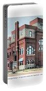 Cheboygan Michigan - Opera House And City Hall - Huron Street - 1905 Portable Battery Charger