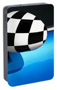 Checkered Finish Portable Battery Charger