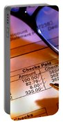 Checking Account Statement Portable Battery Charger