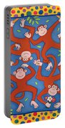 Cheeky Monkeys Wc Portable Battery Charger