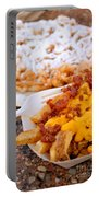 Cheesy Bacon Fries And Funnel Cake Portable Battery Charger