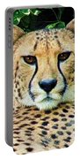 Cheetah Stare L Portable Battery Charger