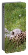 Cheetah With Cubs Portable Battery Charger