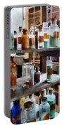 Chemistry - Bottles Of Chemicals Portable Battery Charger