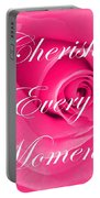 Cherish Every Moment Portable Battery Charger