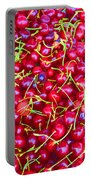 Cherries Brilliant Portable Battery Charger