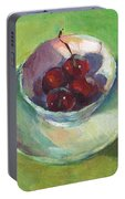 Cherries In A Cup #2 Portable Battery Charger