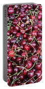 Cherries In Des Moines Washington Portable Battery Charger