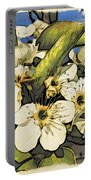Cherry Blooms Portable Battery Charger