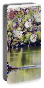 Cherry Blossom Rower Portable Battery Charger