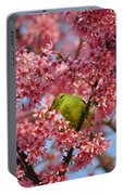 Cherry Blossom Time Portable Battery Charger