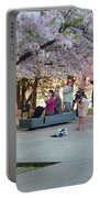 Cherry Blossoms 2013 - 069 Portable Battery Charger