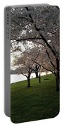 Cherry Blossoms Along The Potomac Portable Battery Charger