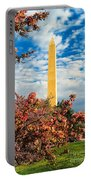 Cherry Blossoms In Washington Portable Battery Charger