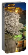 Cherry Blossom Temple Boat Portable Battery Charger