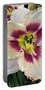 Cherryberry Daylily Portable Battery Charger