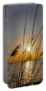 Chesapeak Bay At Sunrise Portable Battery Charger