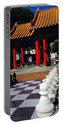 Chess In China Town Portable Battery Charger