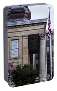 Chester County Court House-side View Portable Battery Charger