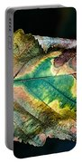 Chestnut Autumn Mosaic Portable Battery Charger