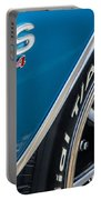 Chevelle Ss 454 Badge Portable Battery Charger