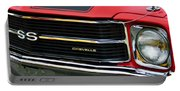 Chevrolet Chevelle Ss Grille Emblem Portable Battery Charger