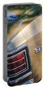 Chevrolet Chevelle Ss Taillight Emblems Portable Battery Charger