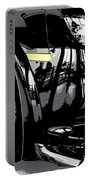 Chevy Camaro Z28 Black Portable Battery Charger