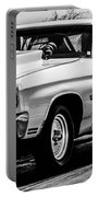 Chevy Chevrolet Chevelle Ss Burning Rubber Portable Battery Charger