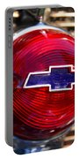 Chevy Red White And Blue Portable Battery Charger