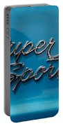 Chevy Super Sport II Emblem Portable Battery Charger
