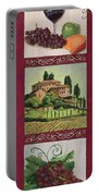 Chianti And Friends Collage 1 Portable Battery Charger by Debbie DeWitt