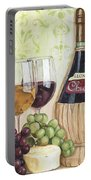 Chianti And Friends Portable Battery Charger by Debbie DeWitt